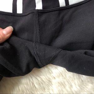 lululemon athletica Pants - Lululemon Pink Waistband Skinny Groove Pants